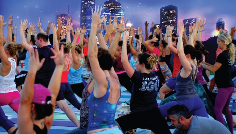 Noel Community Focus - Rooftop Yoga