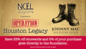 Noel April Promotion - Johnny Mac Soldiers Fund