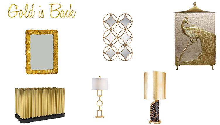 Noel Furniture - Gold is Back