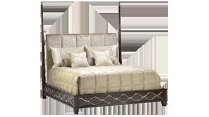 Malibu Low Post Bed