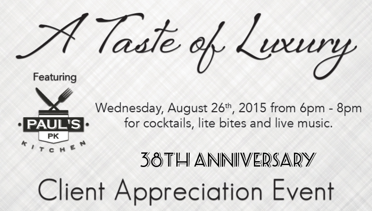 38th Anniversary Client Appreciation Event