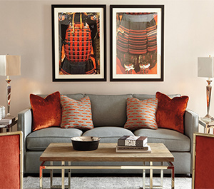 2016 Interior Design Trends: Bold and beautiful styles are in, like this living room