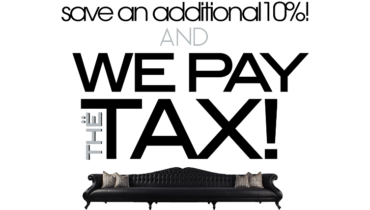 Noel Pay's The Taxes & Save An Additional 10%!