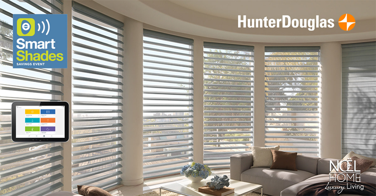 hunter Douglas smart shades event noel furniture