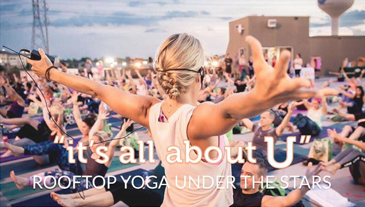 Noel Rooftop Yoga Under the Stars 2017