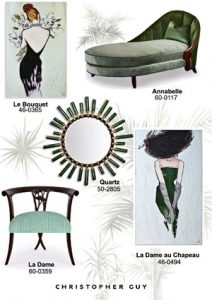 Christopher Guy Color of the Year: Greenery