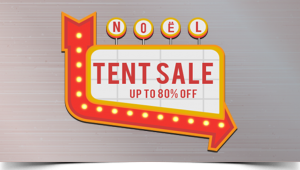 Biggest Sale of the year. The Noel Furniture Annual Tent Sale.