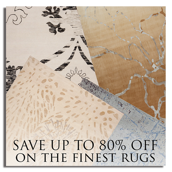 Save up to 80% OFF on the finest rugs at Noel Furniture