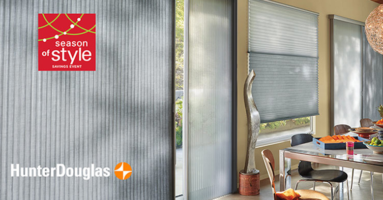 Season of Style - Hunter Douglas