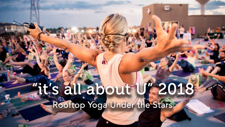 Rooftop Yoga Under the Stars