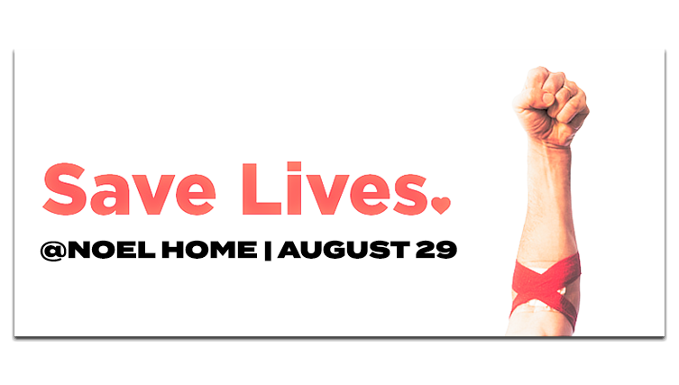SAVE LIVES NOEL HOME BLOOD DRIVE BLUE BELL AUGUST 2018