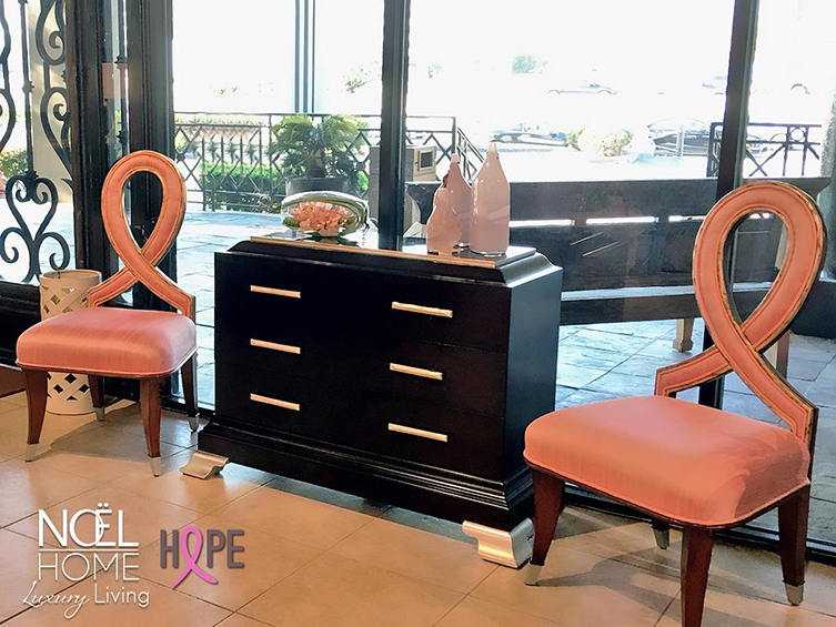 October Is Breast Cancer Awareness Month Noel Furniture Houston Tx