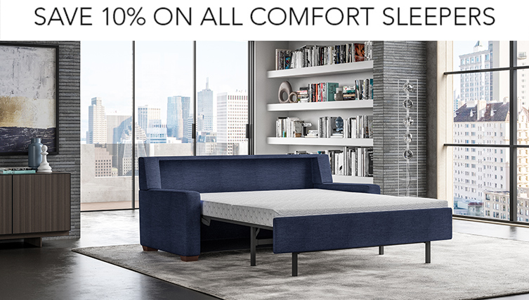 save 10% comfort sleeper sale