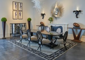 elegant christopher guy dining room set