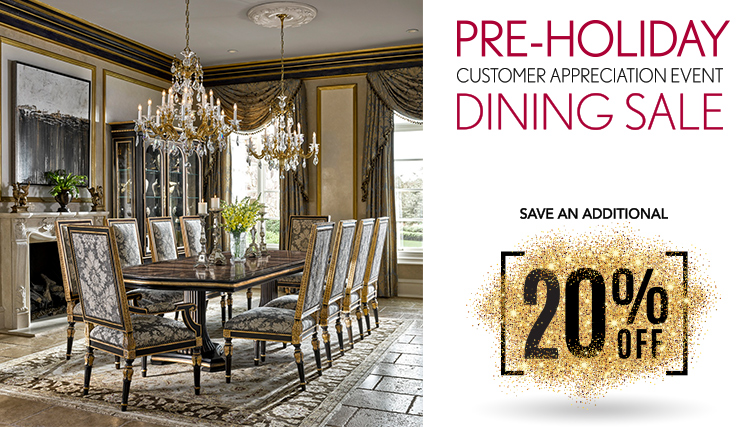 Noel Pre-Holiday Dining Sale