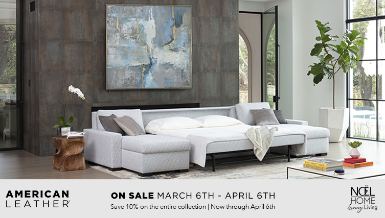 American Leather Spring Comfort Sleeper Sale Noel Furniture