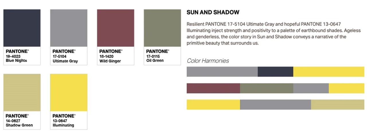 2021 color of the year palette 1