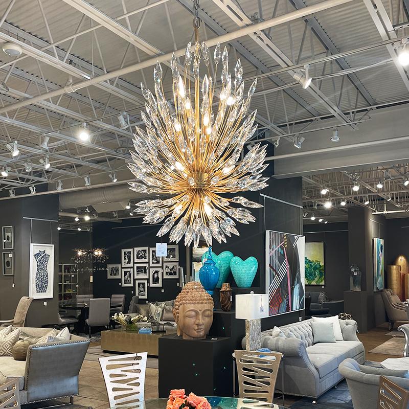artistic chandelier