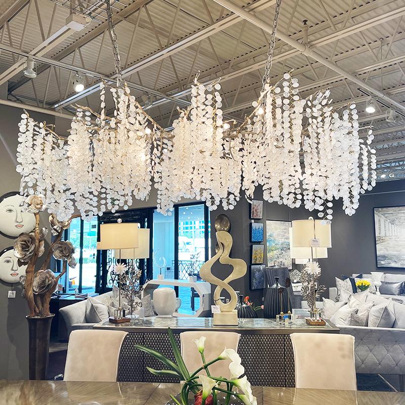 dramatic chandelier